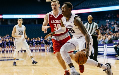 Men's Basketball: Northwestern routs Sacred Heart in bounce-back win