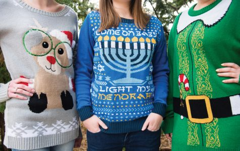 Student group uses ugly sweater trend to raise funds for charity