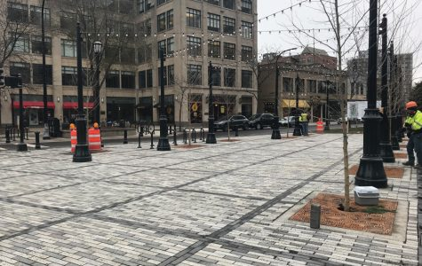 Fountain Square construction prompts search for new tree lighting location