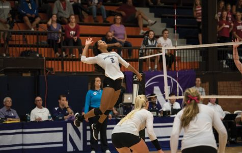 Volleyball: Wildcats fall to No. 9 Spartans in straight sets