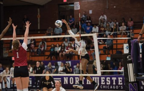 Volleyball: Wildcats show improved fight in loss to Illinois