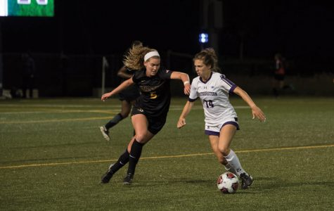 Women's Soccer: Northwestern falls 2-1 in rainy Big Ten Championship barnburner