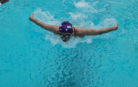 Women's Swimming: Northwestern falls to No. 19 Wisconsin with a short roster