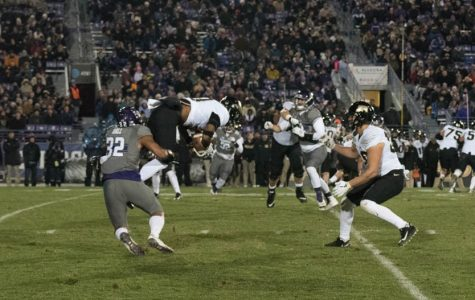 Football: Stifling run defense helps lead Wildcats past Purdue