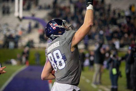 Football: Ben Skowronek steps up for Wildcats in win over Purdue