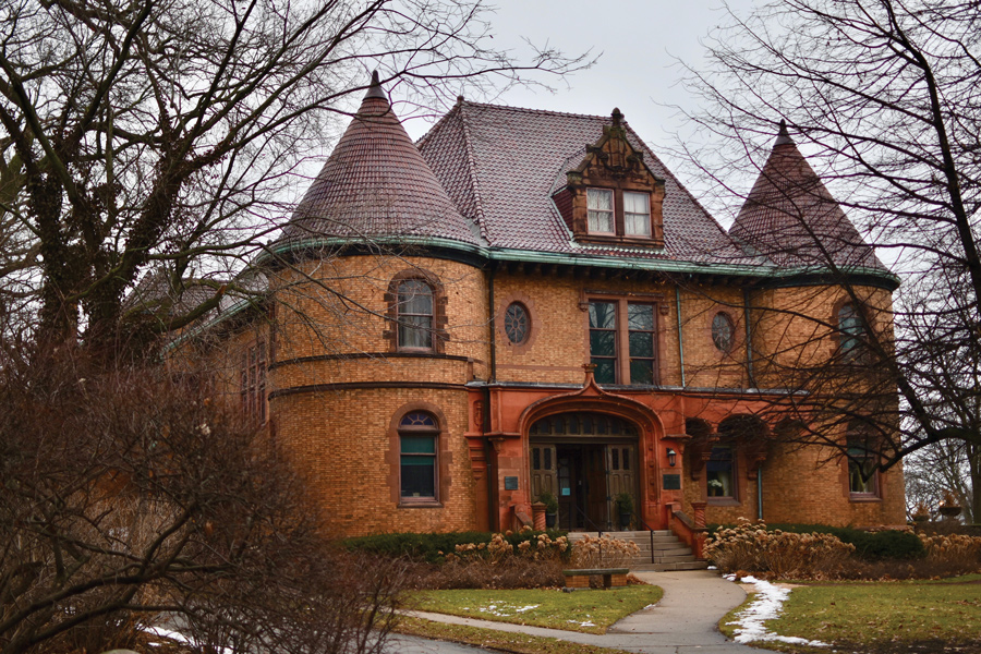 The Charles Gates Dawes House, 225 Greenwood St., was built in 1894. A recent grant will allow the Evanston History Center to hire an architect to plan the final phase of renovations.