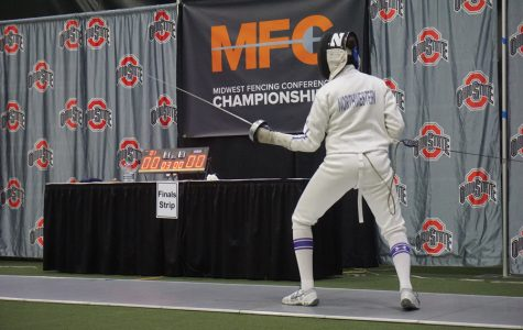 Fencing: Aside from loss to Notre Dame, Wildcats have spotless weekend