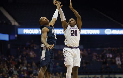Men's Basketball: Law's double-double powers Northwestern past Minnesota