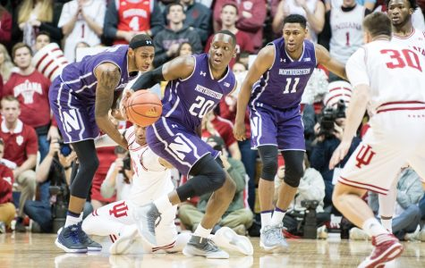 Men's basketball: Northwestern throttled by Indiana