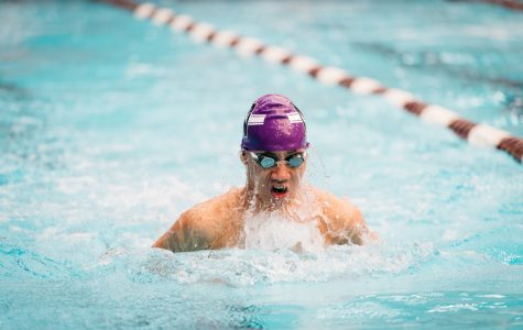 Men's Swimming: Northwestern routed by Iowa on Senior Day