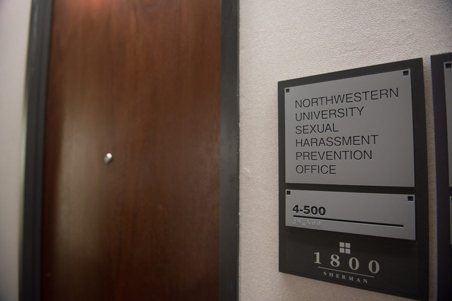 The+Sexual+Harassment+Prevention+Office+at+1800+Sherman+Ave.+Associated+Student+Government+created+a+survey+to+collect+student+feedback+on+Northwestern%E2%80%99s+newly+updated+sexual+misconduct+policy.