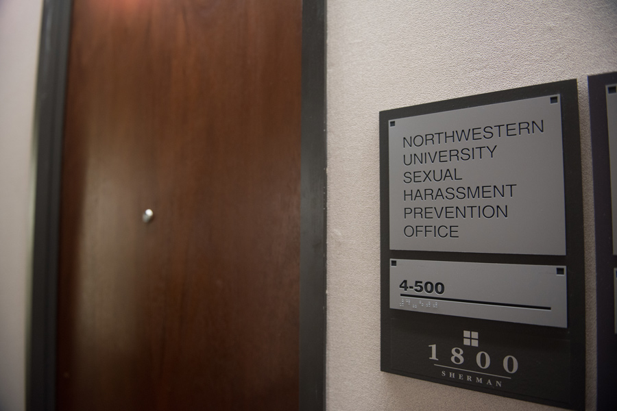 The Sexual Harassment Prevention Office at 1800 Sherman Ave. Associated Student Government created a survey to collect student feedback on Northwestern's newly updated sexual misconduct policy.