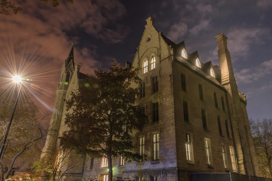 University Hall at 1897 Sheridan Rd. Northwestern was named the best Midwestern college for academic resources by The Wall Street Journal.