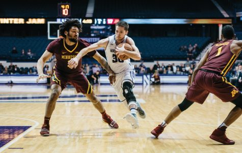 "Men's Basketball: McIntosh breaks assist record in ""brilliant"" performance"