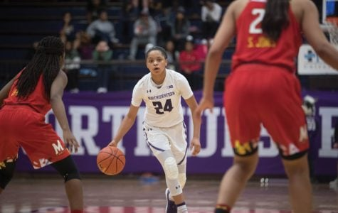 Women's Basketball: Northwestern just falls short against No. 14 Maryland