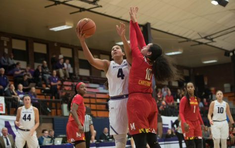 Women's Basketball: Northwestern opens strong against No.14 Maryland