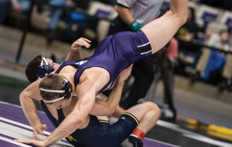 Wrestling: Northwestern looks to take down Nebraska