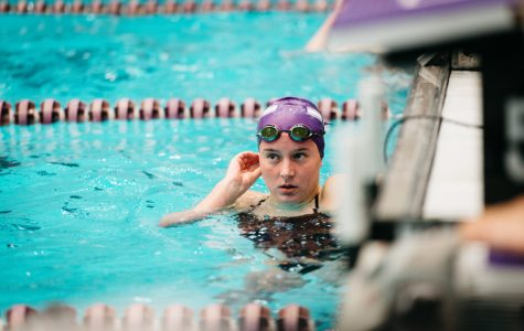 Women's Swimming: Northwestern picks up win against Iowa on road to Big Tens
