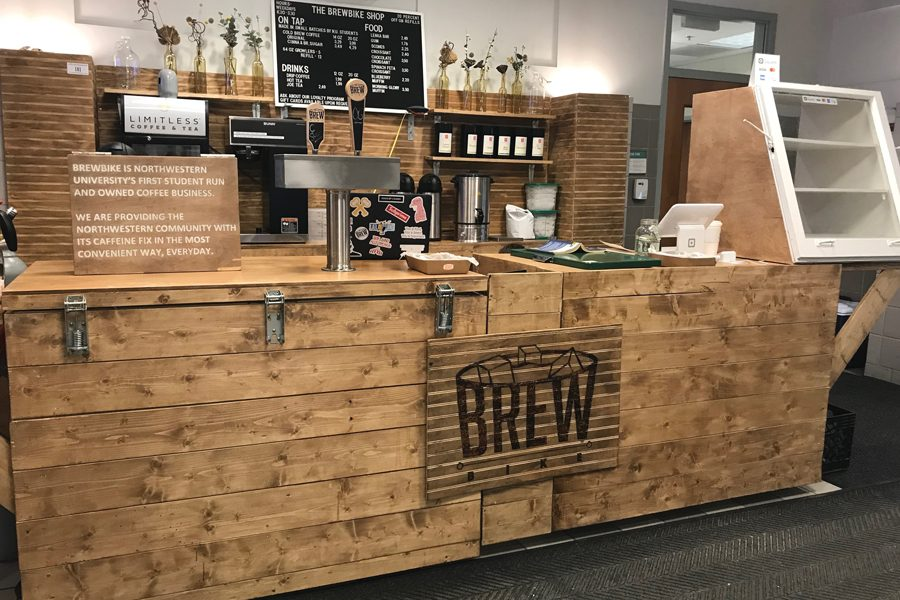 BrewBike+in+Annenberg+Hall.+The+coffee+venture+is+among+30+semifinalists+that+will+advance+to+the+second+phase+of+a+startup+launch+competition.+%0A
