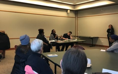 EPL hosts panel on book centered on identity, injustice