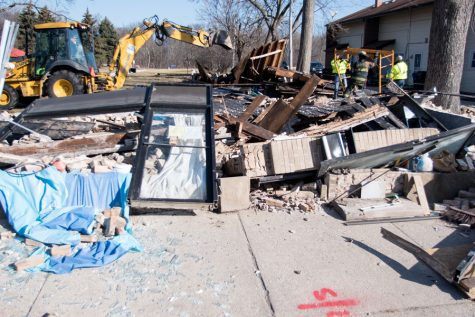Vacant building collapses in 5th Ward
