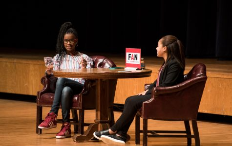 13-year-old author speaks about book, social media campaign