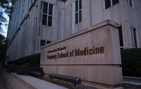 Northwestern's Feinberg School of Medicine in downtown Chicago. Two Feinberg professors are part of a team tackling newborn mortality in Africa, which was selected as one of four finalists in a national competition.