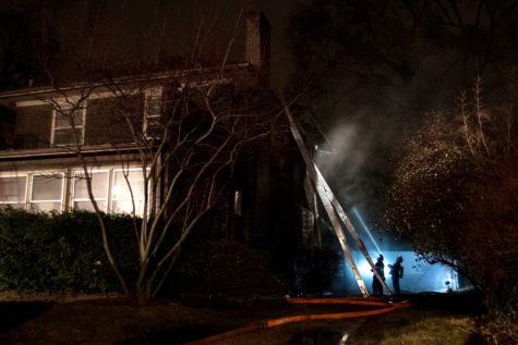 Fire breaks out at home in 600 block of Ridge