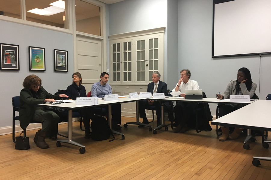 The Inclusionary Housing Ordinance Subcommittee discusses the ordinance. Committee members proposed changes to the ordinance at their meeting Wednesday.
