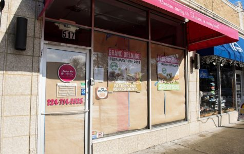 French cafe to open on Dempster, gelato shop moves two doors down