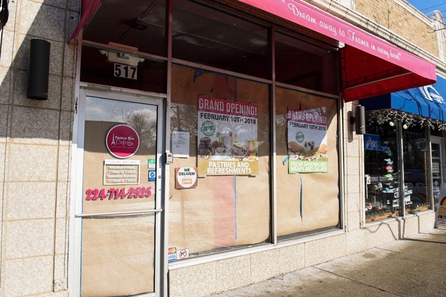 French Kiss Cafe, 517 Dempster St. The new cafe is slated to open on Saturday.