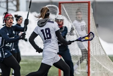 Lacrosse: No. 9 Wildcats prepare to face first ranked opponents