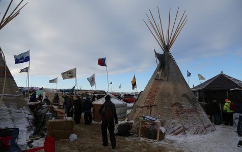 Thousands of Native Americans, veterans and environmentalists created an encampment in rural North Dakota to protest the proposed Dakota Access oil pipeline. Stacy Leeds, dean of the School of Law at the University of Arkansas, spoke about the pipeline conflict and other issues of Native jurisdiction at a Friday event.