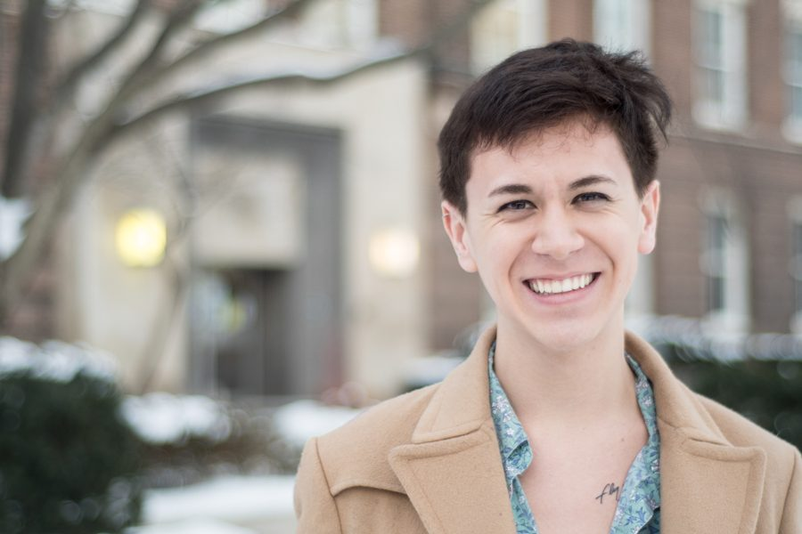 Brock Colyar. The Medill sophomore created the Queer Reader, an LGBTQ and radical feminist magazine, after frustrations with what he calls a lack of unity in the queer community.