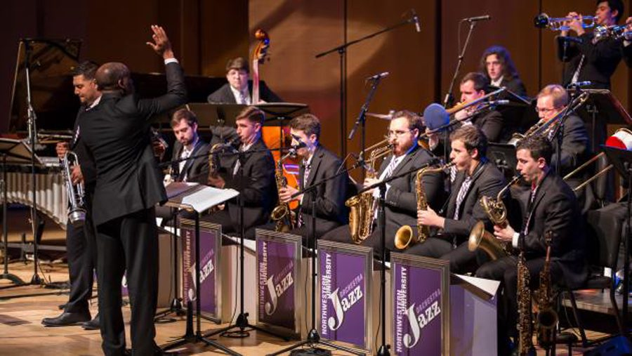 The+Northwestern+University+Jazz+Orchestra+will+perform+a+New+Orleans+jazz-focused+concert+in+honor+of+Mardi+Gras+on+Feb.+13+in+Galvin+Recital+Hall.+
