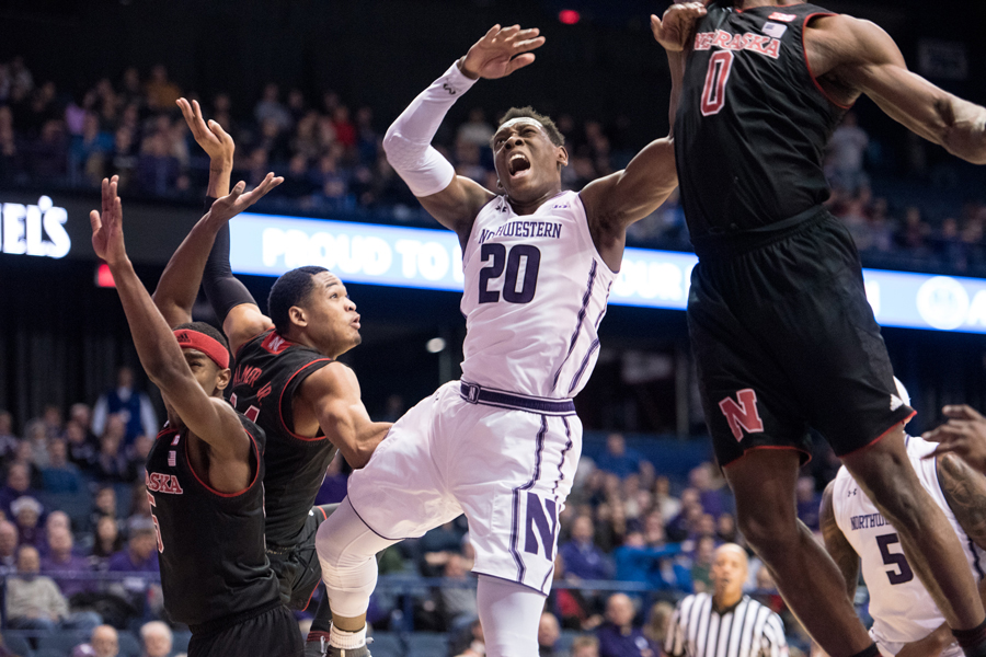 Scottie Lindsey gets stripped going up for a layup. The senior guard looks to finish his career undefeated at the Rutgers Athletic Center on Tuesday.