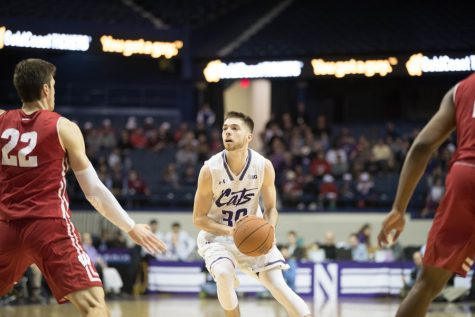 Men's Basketball: Wildcats lose fifth straight to Wisconsin on Senior Night