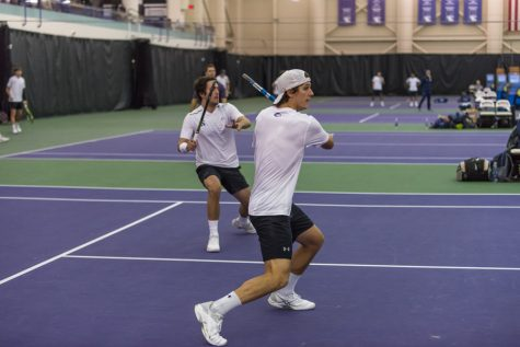 Men's Tennis: Northwestern looks for success in matches against Louisville, IUPUI