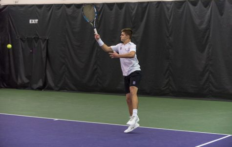 Men's Tennis: Northwestern comes up short against ranked opponents, beats Chicago State