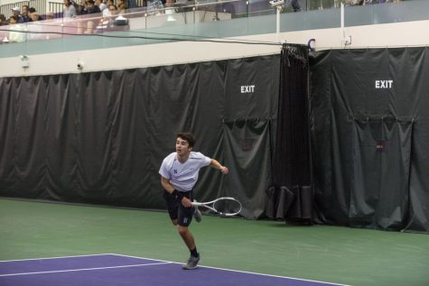 Men's Tennis: Northwestern loses two matches by narrow margins