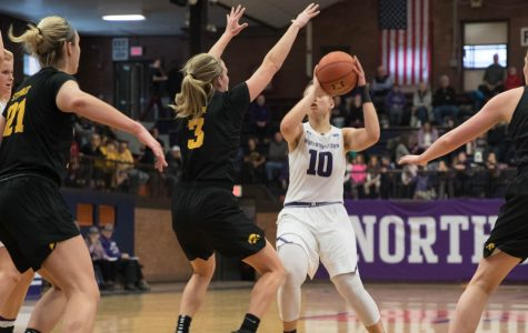 Women's Basketball: Northwestern hurt by lack of depth in fast-paced game