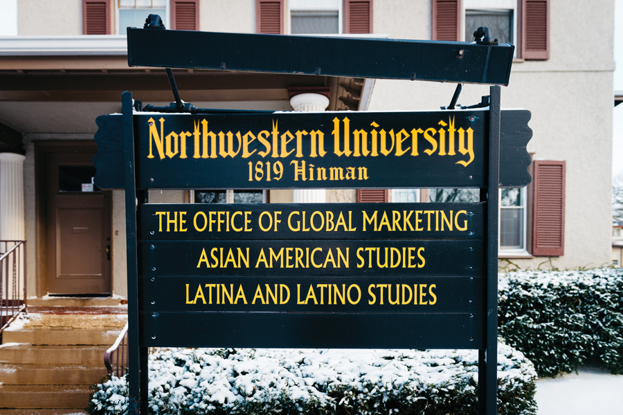 Offices of Asian American Studies and Latina and Latino Studies Programs at 1819 Hinman Avenue. Students in the programs are pushing for additional resources, department status and greater autonomy.