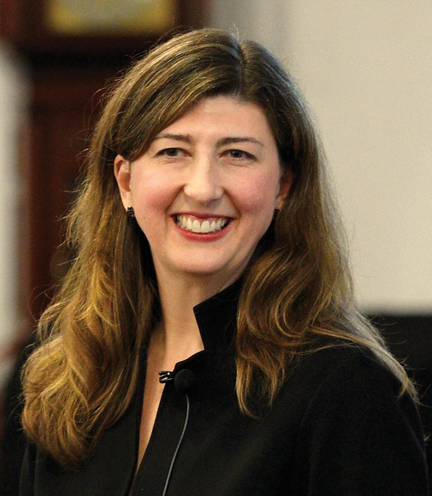 Katherine Watson. The Feinberg professor released a book Thursday on abortion laws and ethics.