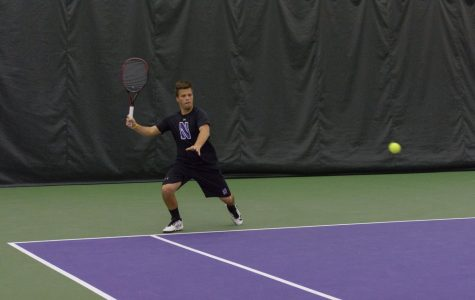 Men's Tennis: Northwestern searches for upsets during busy slate