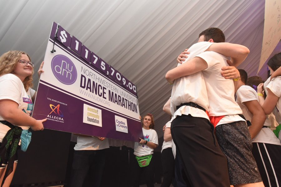 Dance+Marathon+2018+raised+over+%241.1+million+for+Cradles+to+Crayons+and+the+Evanston+Community+Foundation.+