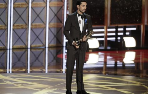 Riz Ahmed wins for Outstanding Lead Actor in a Limited Series or Movie during the Emmy Awards on Sept. 17, 2017. Ahmed, a rapper, actor and activist, will speak on campus March 16 at an event hosted by the Muslim-cultural Students Association.