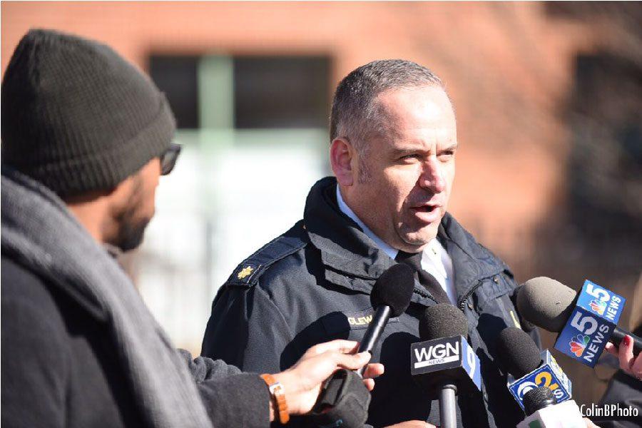 Evanston police Cmdr. Ryan Glew.