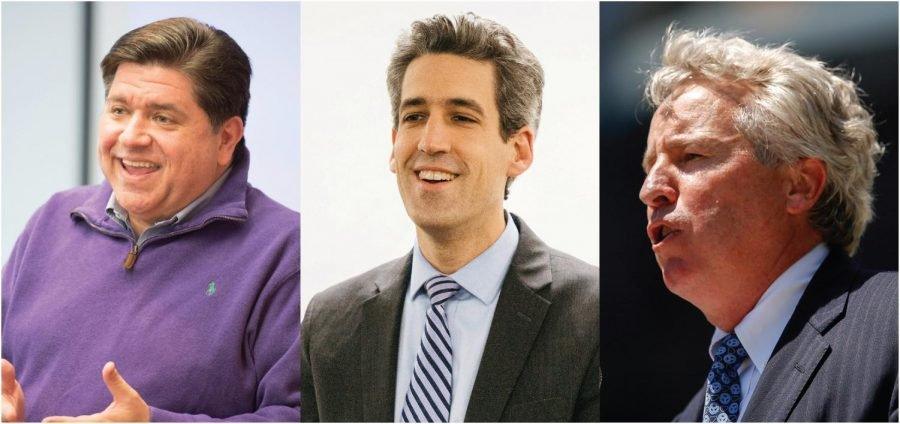 Billionaire+J.B.+Pritzker.+State+Sen.+Daniel+Biss+%28D-Evanston%29.++Businessman+Chris+Kennedy.