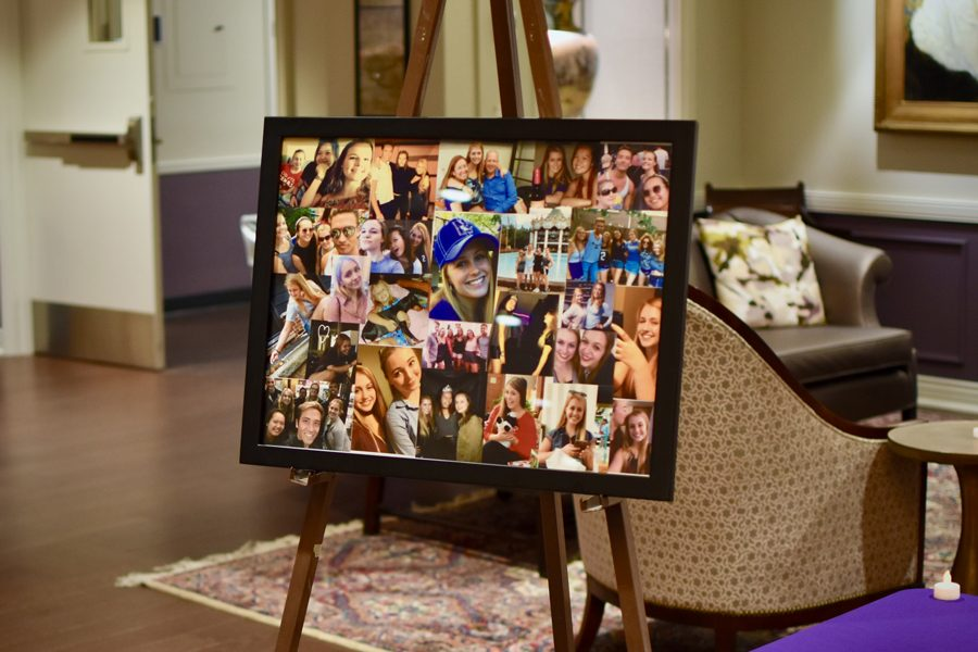 A+memory+box+filled+by+friends+and+a+picture+collage+will+be+delivered+to+Kenzie+Krogh%E2%80%99s+family.+Friends+remembered+Krogh+as+selfless%2C+compassionate+and+genuine.+