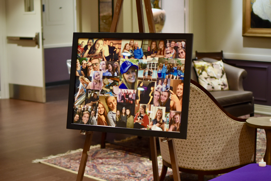 A memory box filled by friends and a picture collage will be delivered to Kenzie Krogh's family. Friends remembered Krogh as selfless, compassionate and genuine.